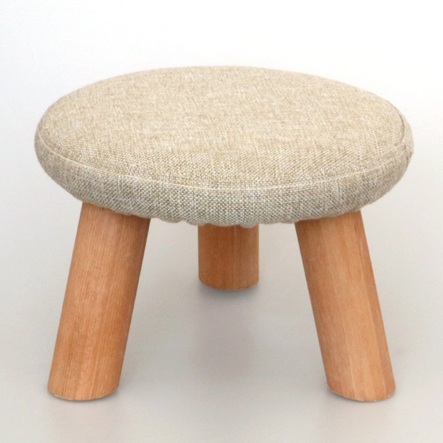 Household use Solid Wood Fashion Creative Round Stool Living Room ...