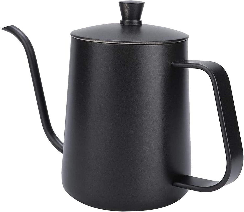 Drip Pot Stainless Steel Fees free Gooseneck Milwaukee Mall Tea Pour Coffee Kettle L Over