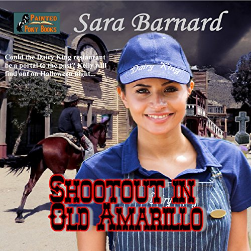 Shootout in Old Amarillo audiobook cover art