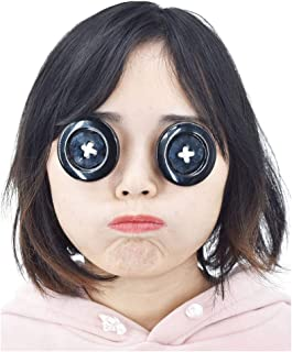 C-ZOFEK Coraline Cosplay Props Button Eyewear for Other Mother Cosplay