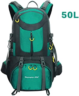 YSY-CY Outdoor Sports Backpack, Multi-function Wear-resistant Large-capacity Riding Bag Mountaineering Bag Camping Bag, Casual Wild Student Bag Unisex(50L) Suitable for travel/outdoor/mountain cli
