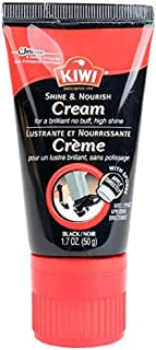 KIWI Express No Buff Cream Shoe Polish, Black 1.7 oz, 1-Pack,