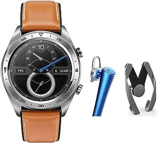 ARAYACY Reloj Inteligente - Reloj Deportivo - Reloj para Dama Al Aire Libre, Pulsera Inteligente para Hombres con Pantalla TáCtil A Prueba De Agua,Brown