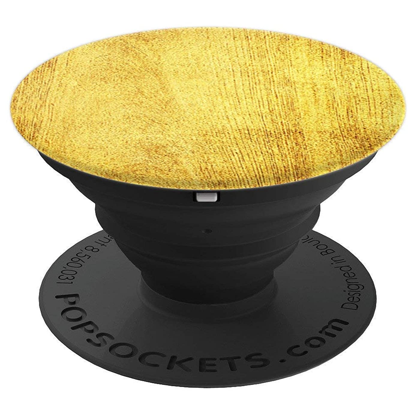 Design For Men Vintage Yellow Ombre Brown Natural Tree Fiber - PopSockets Grip and Stand for Phones and Tablets