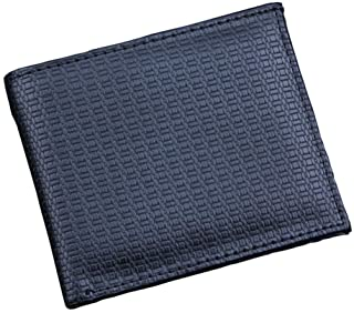 GUMAOPAJIAAAqianb wallet Wallet Men Business Leather Wallet Credit Card Holder Purse Pockets (Color : Black)