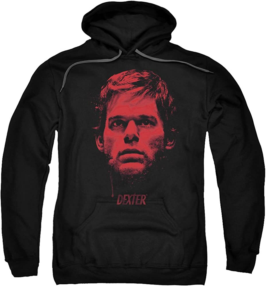Dexter Bloody Face Unisex Adult 倉 お気に入 Pull-Over Hoodie and for Wom Men