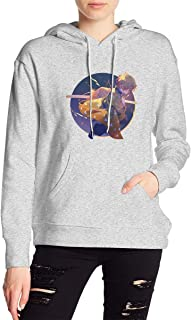 Agatsuma Zenitsu Demon Slayer Kimetsu No Yaiba Hoodies Sweatshirt Adult Pullovers for Women