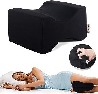 Almohada Piernas para Dormir, Dioxide Ergonómico Cojín Ortopédico, Ideal para ciática, Caderas, articulaciones, Alivio de Dolores de Embarazo y Dormir de Lado