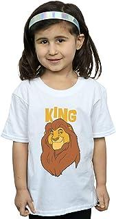 Disney Girls The Lion King Mufasa King T-Shirt
