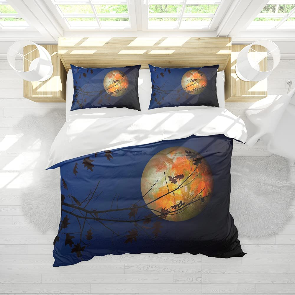 Comforter Cover Beauty products Moon Bedding Set for Girls Boys Bed Se Kids Al sold out. Size