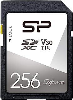 シリコンパワー SDカード 256GB UHS-I U3 V30 4K 対応 Class10 最大転送速度 100MB/s 5年保証 SP256GBSDXCV3V10