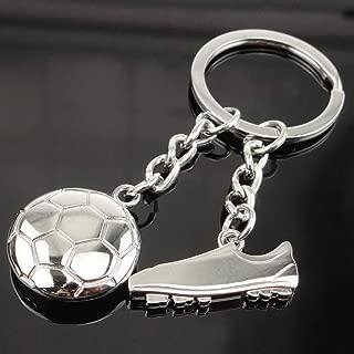 Wen XinRong Mini Cute Soccer Keychain Soccrer Ball Key Chain Soccer Shoes Key Ring Gifts for Men Women Boys Girls