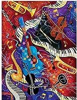 音楽1000ピースパズル-大人のパズル-部屋の装飾-クラシックパズル抽象的なパズル