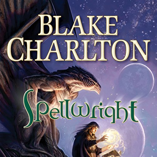 Spellwright audiobook cover art