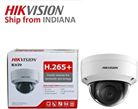 Hikvision 4MP Outdoor PoE IP Camera DS-2CD2143G0-I 2.8mm Fixed Lens, 2688x1520, EXIR 98ft Night Vision, Smart H.265+ WDR, SD Card Slot, VCA, ONVIF, IP67 IK10