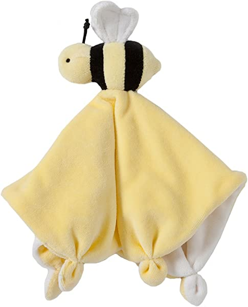 Burt S Bees Baby Lovey Plush Hold Me Bee Soother Security Blanket 100 Organic Cotton Sunshine Yellow