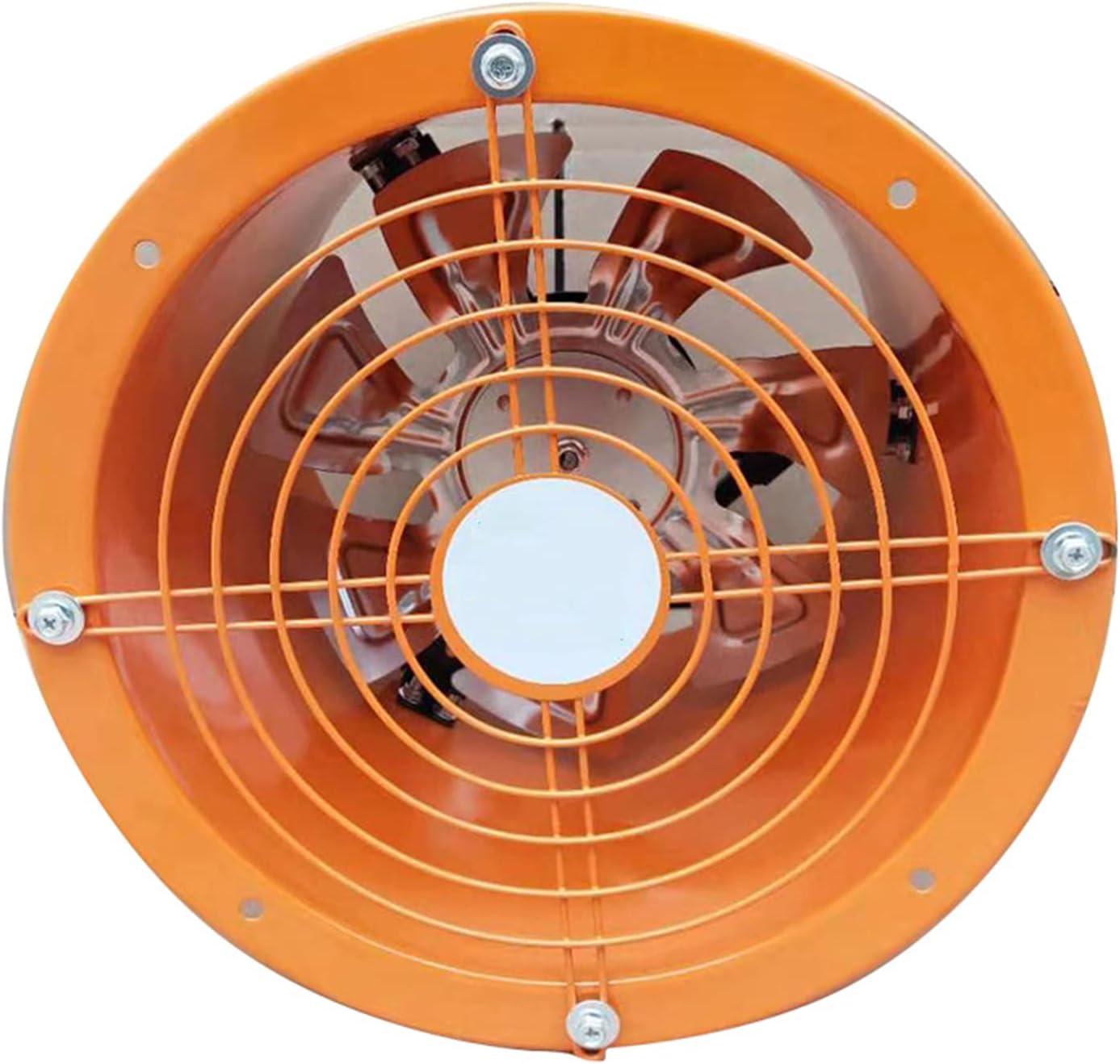 Starsmyy Ventilador De Extracción Ventilador Extracción Ventilación Gas Polvo Industrial Alta Velocidad Portátil para Talleres, Fábricas, Salas Producción, Criaderos, 3000m³/h, 14 Inch