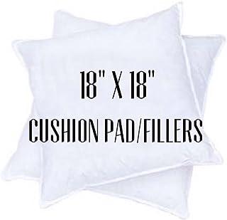 "Rohi Pair of 18""x18"" / 45x45cm Cushion Pads"