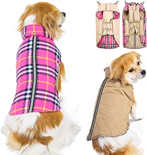 Best pink plaid dog jacket Reviews