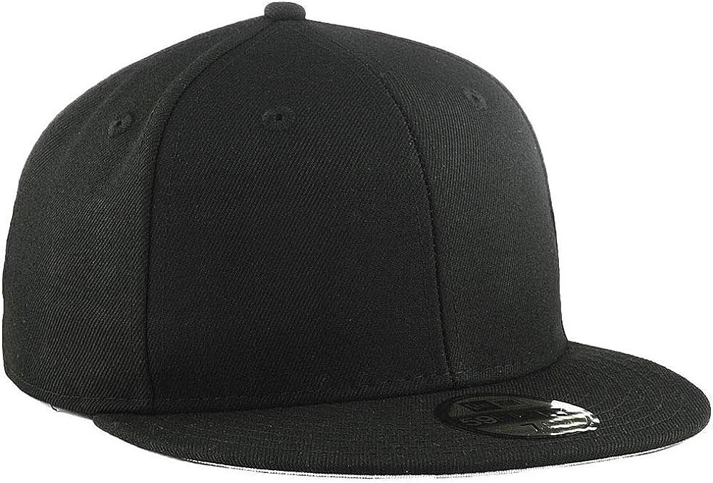 New Era Blank Custom 59FIFTY Fitted Cap Black