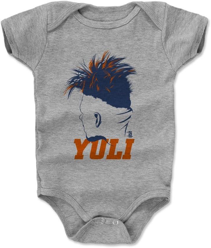 Yuli Gurriel Silhouette 3-24 Months 500 LEVEL Yuli Gurriel Houston Baseball Baby Clothes /& Onesie