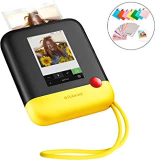 "Polaroid POP 2.0-20MP Instant Print Digital Camera with 3.97"" Touchscreen Display, Built-in Wi-Fi, 1080p HD Video, Yellow"