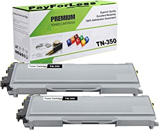 PayForLess Compatible TN350 TN-350 Toner Cartridge 2PK for Brother HL-2070N HL-2040 DCP-7020 MFC-7420 MFC-7225N MFC-7820N Intellifax-2820 Printers