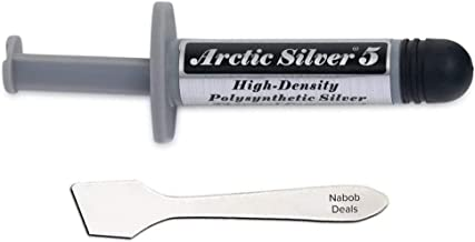 Arctic Silver 5 Thermal Cooling Compound Paste 3.5g Heatsink Paste High-Density..