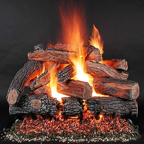 Great Features Of Rasmussen 42-Inch TimberFire Gas Log Set with Vented Natural Gas LD Multi-Burner -...