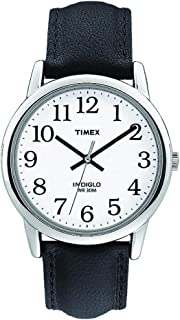 Men's T205019J Easy Reader Black Leather Strap Watch