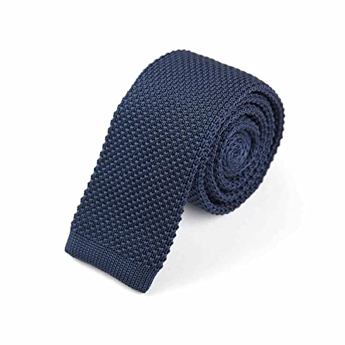 KIDS KNITTED SKINNY TIES STYLE VARIOUS COLOURS