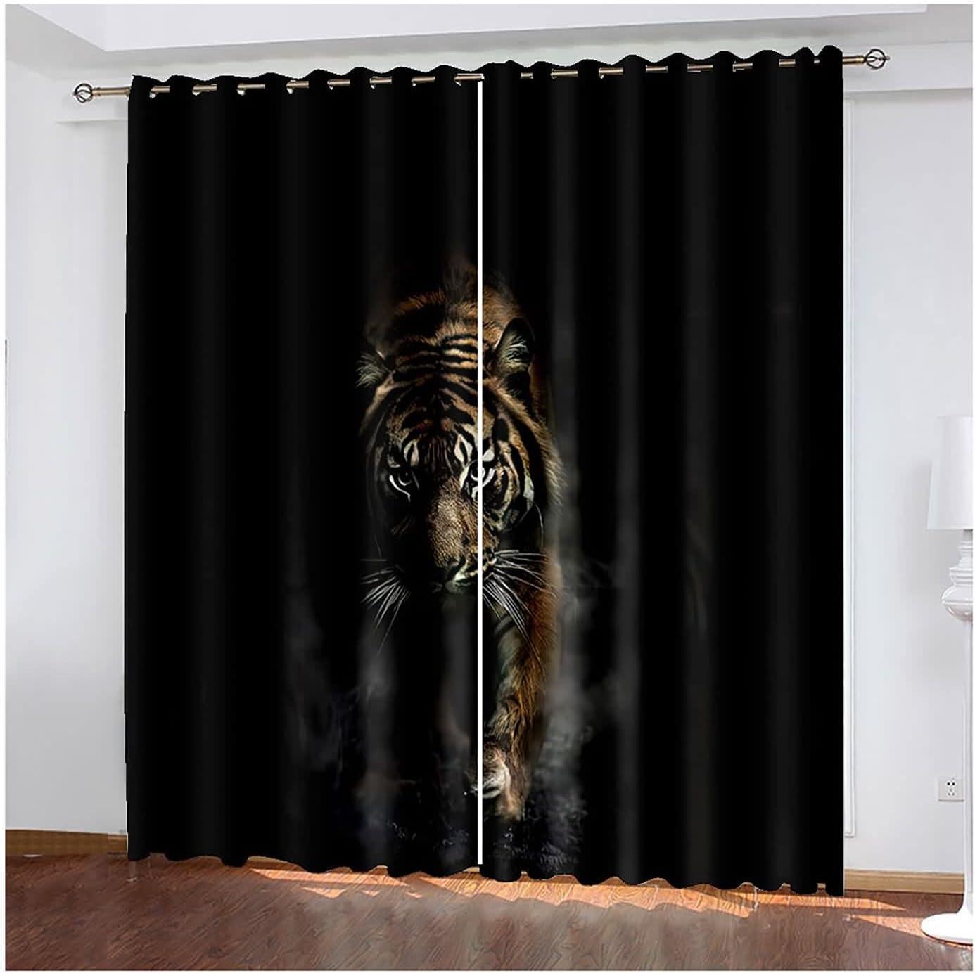 Max 83% OFF Curtains for Livingroom Popular overseas 2 Panel Drapes Darkenin Living Room