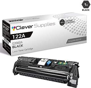CS Compatible Toner Cartridge Replacement for HP 2550N Q3960A Black HP 122A Color Laserjet 2550 2550L 2550LN 2550N 2800 2820 2830 2840