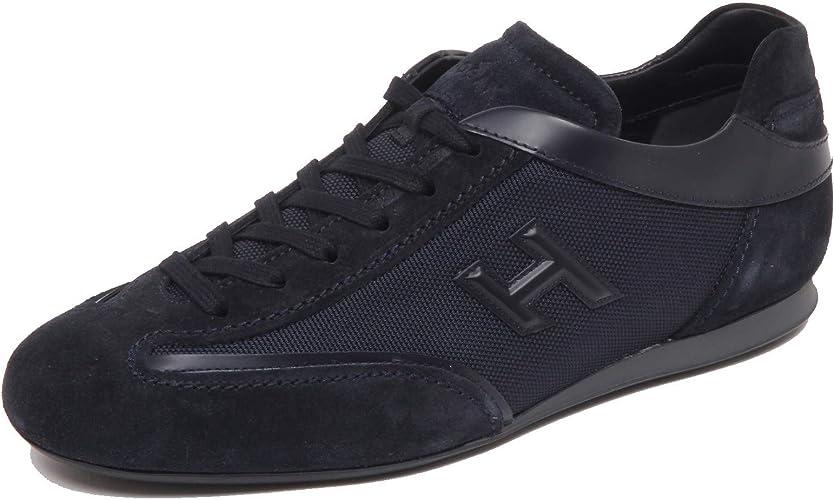Hogan F7198 Sneaker Uomo Dark Blu Olympia Slash H 3D Shoe Man [7 ...