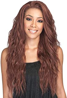 Bobbi Boss Swiss Lace Front Wig for Black Women - MBLF270 Ambra (M2/99J)