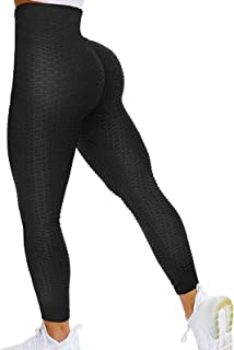 High Waist Leggings Fitness Yoga Pants Push Up Scrunch Butt Lift Tights Sport Pants Stretchable Gym Anti –Cellulite for Women