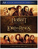 La Trilogia Hobbit Y La Trilogia El Senor De Los Anillos [Blu-ray]