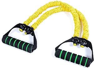 Crossfit Fitness Bauchmuskel Training elastisch 1 Paar Ziehrolle Stretch Training langlebig Fitness-Rad GFULLOV Seil Sport Widerstandsband