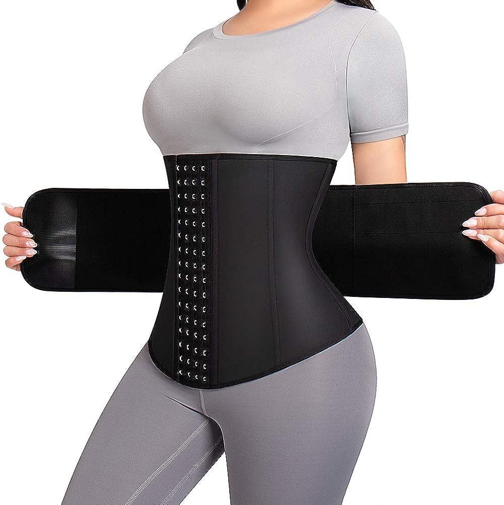 Max 68% OFF ASHLONE Waist Trainer for Women Sport Latex Co Popular standard Cincher Underbust