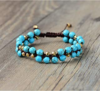 Bracelets Agate Woven Bracelet Handmade Strings Friendship Bracelet Bracelet Straight