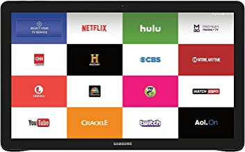 Samsung Galaxy View 64GB Wi-Fi (+ 4G LTE on AT&T) Unlocked Android 18.4in Large-Display Tablet Computer, Black (Business Packaging / Brown Box) (Renewed)