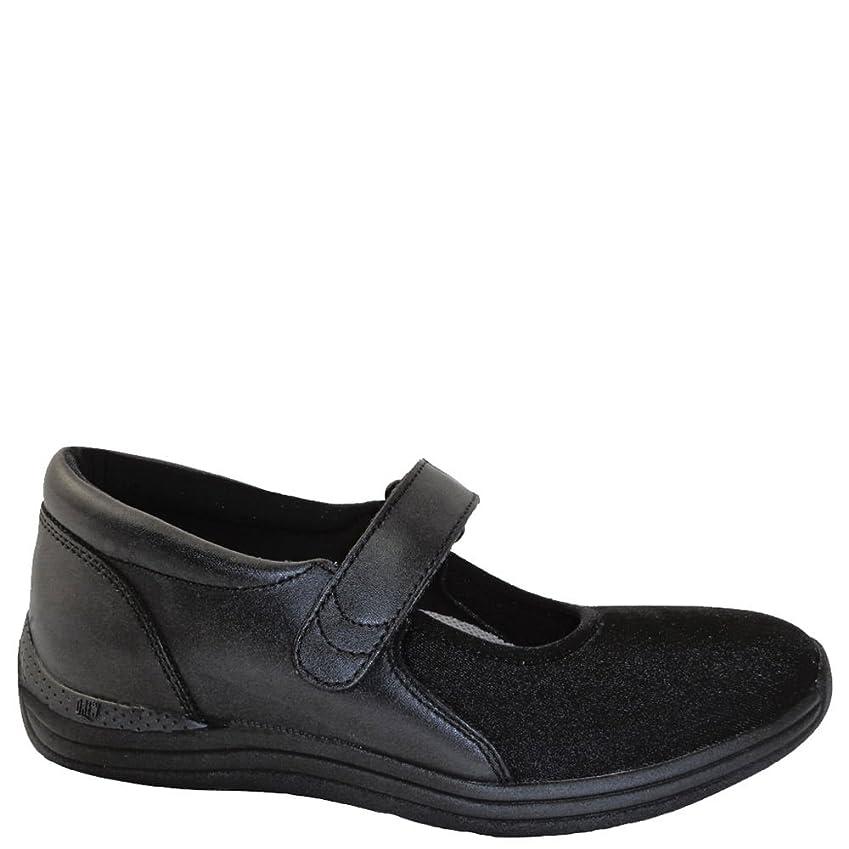 記念碑組立部分的にDrew Shoe Magnolia 14326 Women's Casual Shoe Lycra Velcro [並行輸入品]