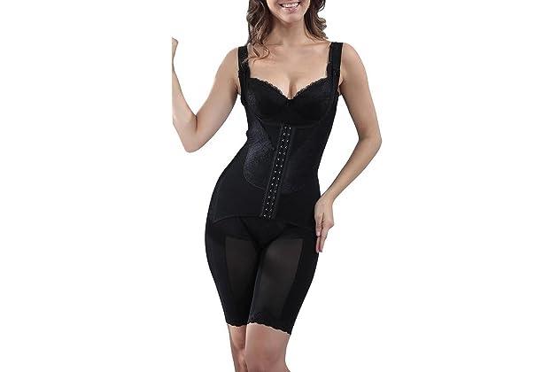 7d5dc6def65 Supplim Women s Body Shaper Waist Cincher Underbust Corset Bodysuit  Shapewear