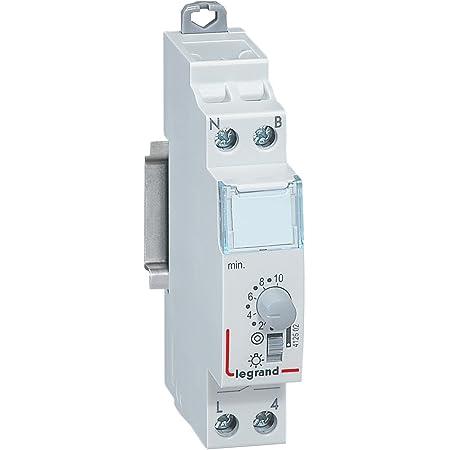 Legrand LEG412602 - Temporizzatore luce scale, modulare, 16 A, 230 V, 50/60 Hz