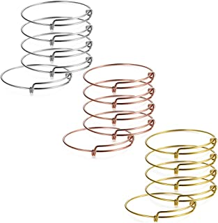 Best silver expandable baby bracelet Reviews
