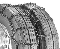 Security Chain Company QG4843CAM クイックグリップ Vバータイプ CAM-RDT ライトトラック デュアル&トリプルタイヤトラクションチェーン - 1パック
