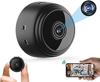 Mini Hidden Spy Camera WiFi Small Wireless Video Camera Full HD 1080P Night Vision Motion Sensor Support SD Card for iPhon...