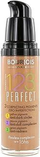 Bourjois - 123 Perfect Foundation Make-Up for perfect skin 30 ml 58 Dark Bronze -