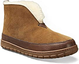 Best mens shearling boot slippers Reviews