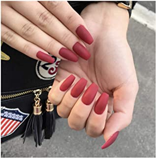 Best long fake red nails Reviews
